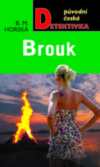 Green book cover Brouk with female looking at bonfire