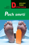 Green bookcover with feet of a dead person